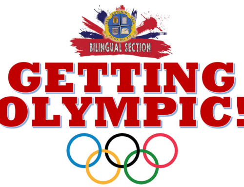 GETTING OLYMPIC!